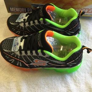 9c55d39b85b4 Skechers Shoes - Skechers Kids Boys Skech Air Turbo Shock Sneaker